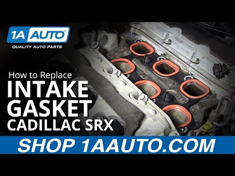 How to Replace Intake Gasket 10-16 Cadillac SRX