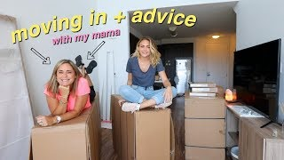 Moving Into my NEW APARTMENT! + High School Advice | Summer Mckeen