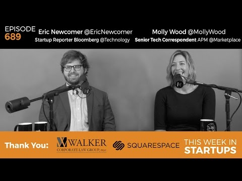 E689: News Roundtable! Molly Wood Marketplace, Eric Newcomer Bloomberg: Trump, Thiel, tech, jobs