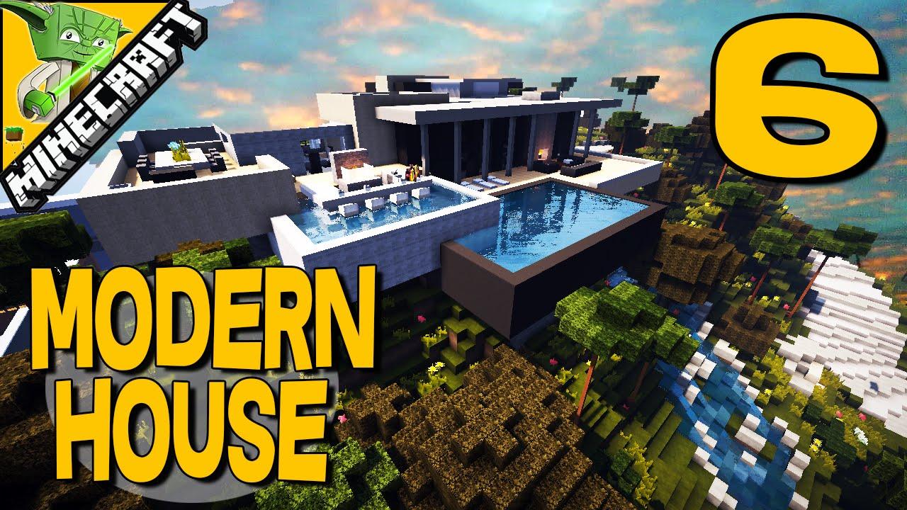 Minecraft modern builds showcase modern house 6 youtube