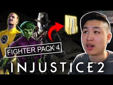 Injustice 2: PC Version Leaked Fighter Pack 4... (EMOTIONAL REACTION)