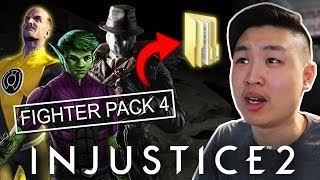 Injustice 2: PC Version Leaked Fighter Pack 4... (EMOTIONAL REACTION)