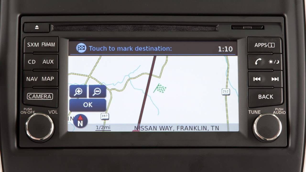 2016 Nissan Frontier Navigation On If So Equipped