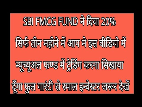 FMCG FUND FULL DETAILS INVEST IN AUG TILL NOV FUND HAS GIVEN 20% PROFIT IN 3 MONTH