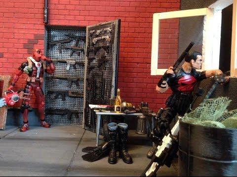 """Marvel Legends Deadpool Armory Foam Diorama (6"""" scale)"""
