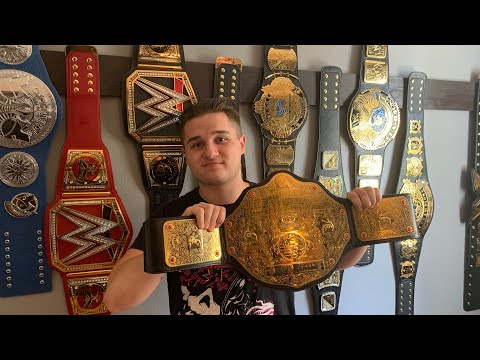 WORLD HEAVYWEIGHT CHAMPIONSHIP REPLICA REVIEW!!