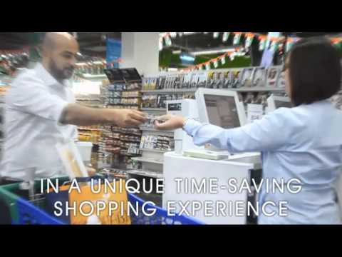 Souq Planet - UAE's First Self-Scan Supermarket