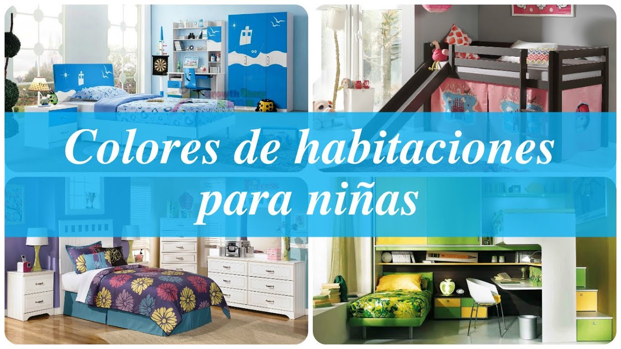Colores de habitaciones para ni as youtube - Color de pintura para habitacion ...