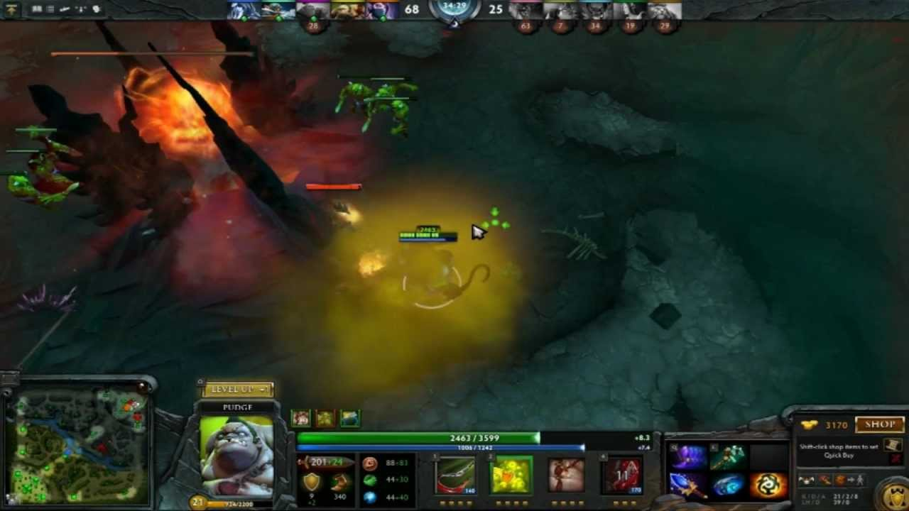 dota 2 pudge guide montage part 1 unseenstalkr youtube