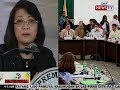 BT: Pag-apruba ng komite sa articles of impeachment vs. CJ Sereno, hindi natuloy