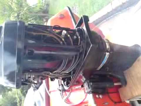 mercury 140hp inline 6 outboard youtube. Black Bedroom Furniture Sets. Home Design Ideas