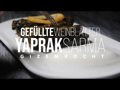 gefüllte-weinblätter-rezept-||-zeytinyağlı-yaprak-sarma-tarifi