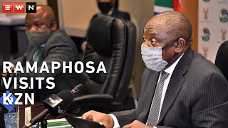 President Cyril Ramaphosa visited KwaZulu-Natal to assess the province's response plan to the coronavirus outbreak. Ramaphosa lauded the province's efforts but emphasised that it needed to ensure they were prepared for the worst-case scenario. KwaZulu-Natal has the third-most infections in the country after the Western Cape and Gauteng.