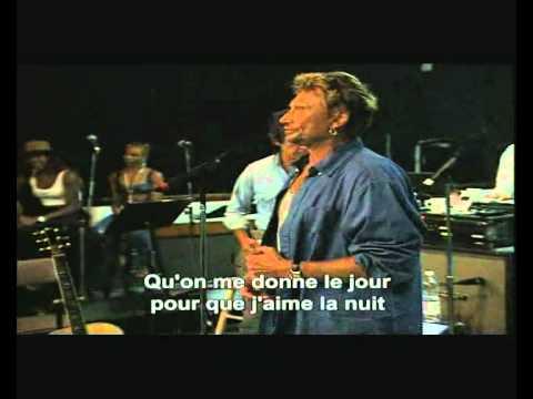 Karaoké   Johnny Hallyday  L'Envie