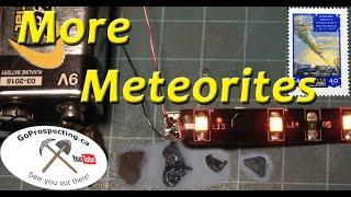 Meteorite Fragment Electrical Properties
