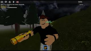 Roblox playing a Camping fan game part 1 (Cringe)