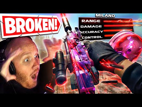 THIS MILANO RANGED WEAPON IS BROKEN IN WARZONE SEASON 4!