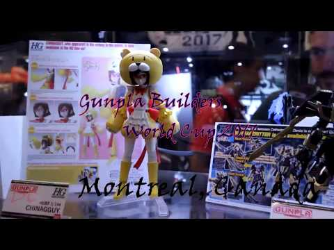 Gunpla Builders World Cup Montreal, Canada 2017