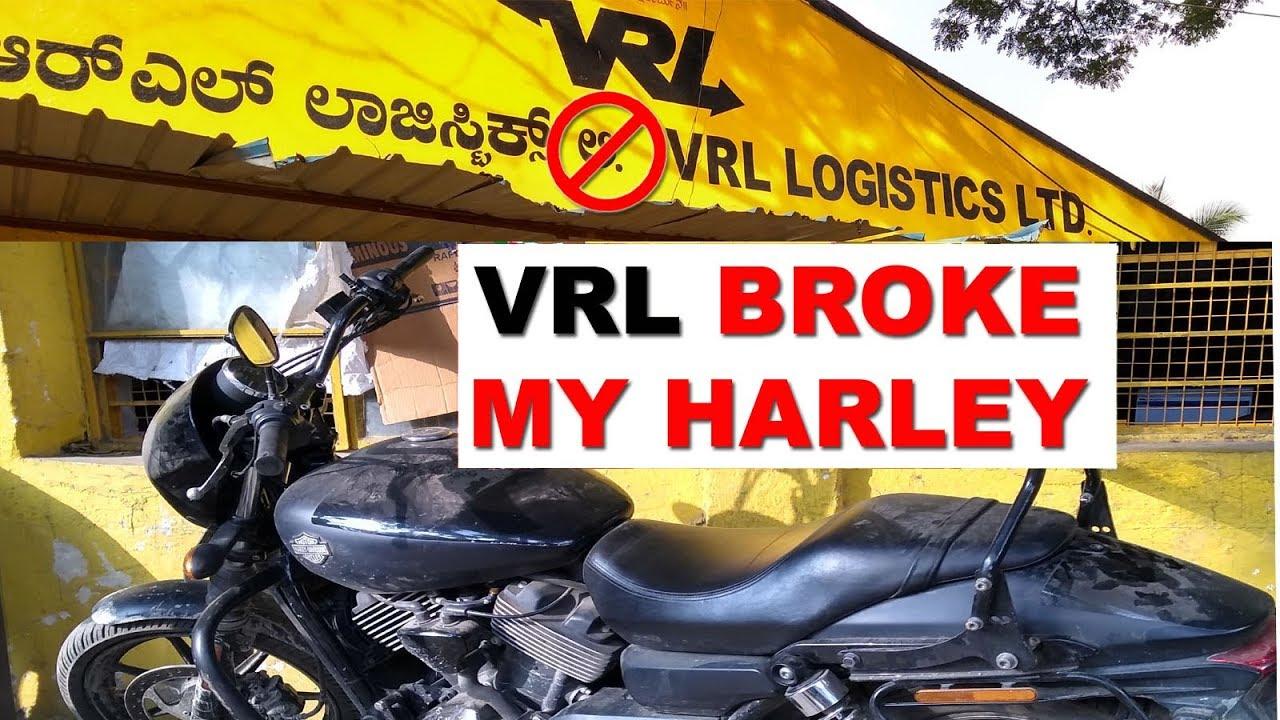 Vrl Damaged My Harley Davidson Horrible Experience Youtube