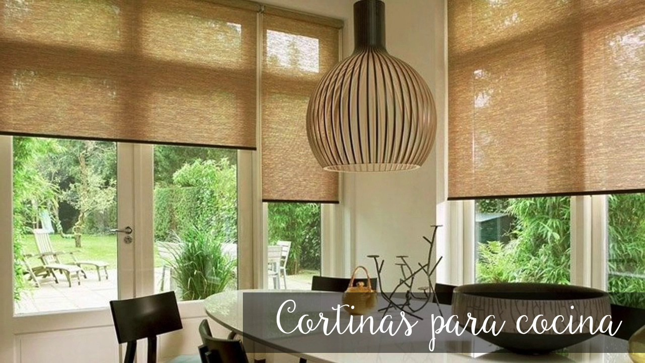 Tendencias de cortinas para cocina youtube for Cortinas para cocina