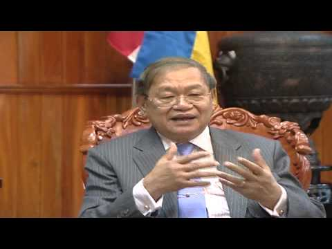 Khieu Kanharith Minister of information Interview 2015