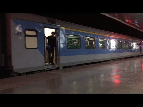 Shiny Shatabdi Express silently arrives@ Chandigarh Jn.