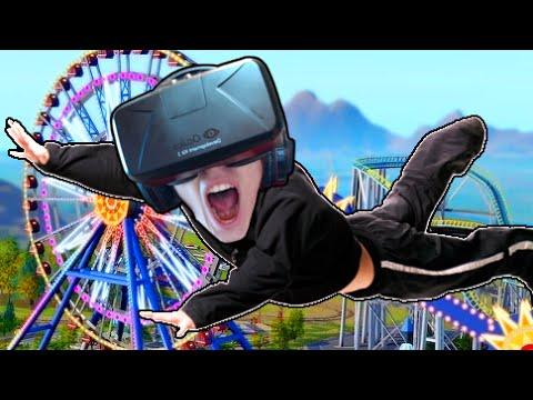 LANCIARSI DA UNA GIOSTRA LETALE!! - CyberSpace (Oculus Rift)