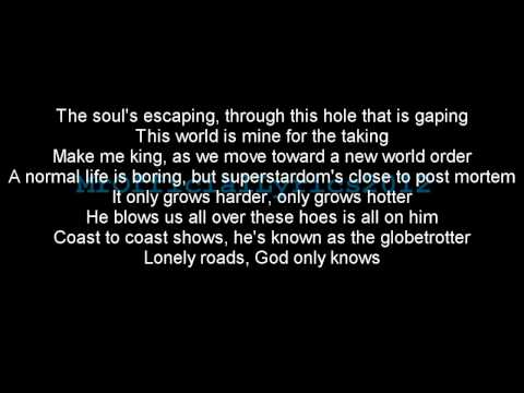 Eminem - Lose Yourself (Lyrics) *HQ AUDIO*
