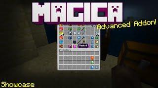 The Most Advanced Addon Yet On Minecraft Bedrock Edition(Magicá)