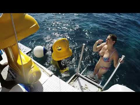 Bubble Sub Paradise Island Bahamas Pt1