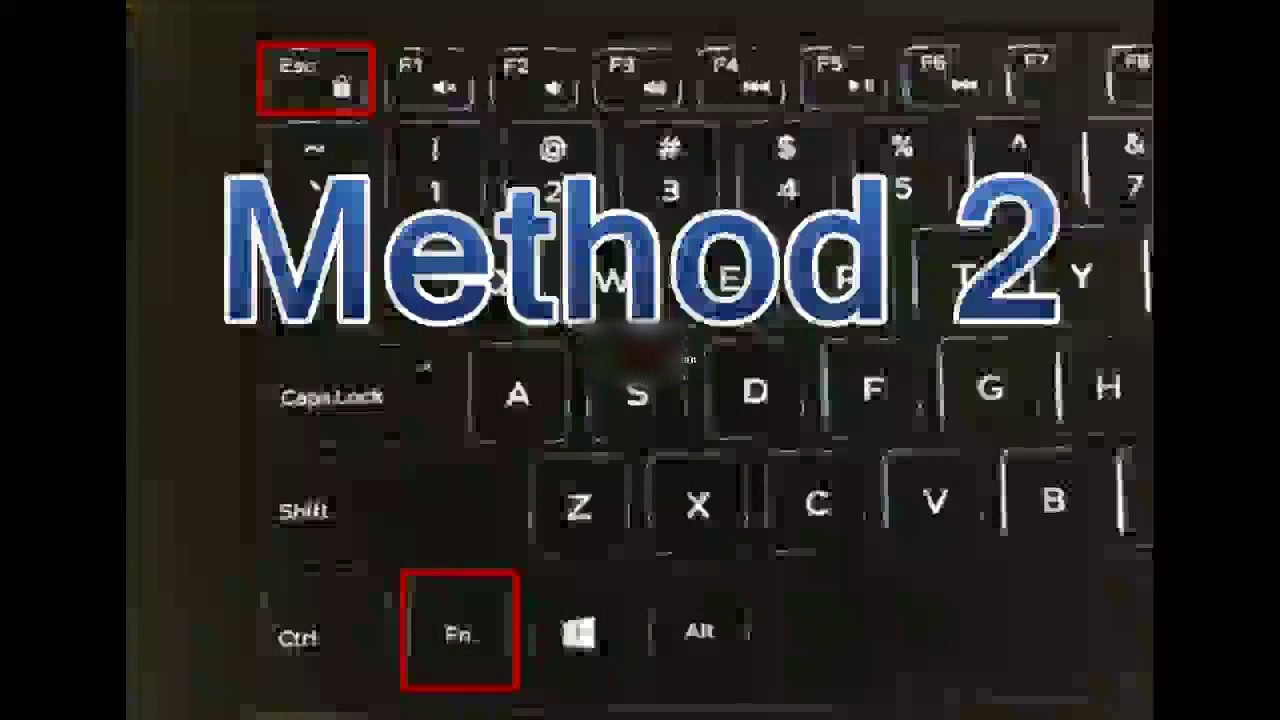 How to disable Hotkeys | How to enable function keys - YouTube