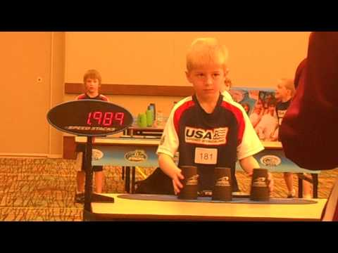 3-3-3 Finals @ 2013 World Speed Stacking Championships, Scored: 1.767