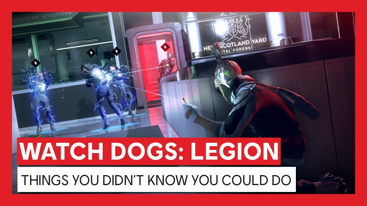 Watch Dogs: Legion - THINGS YOU DIDN'T KNOW YOU COULD DO