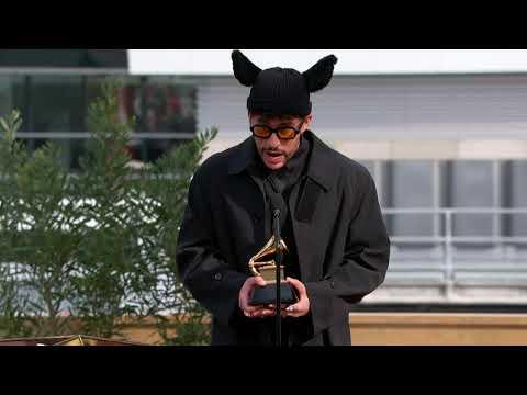 Bad Bunny Wins Best Latin Pop or Urban Album   2021 GRAMMYs