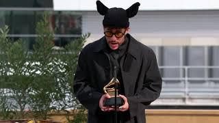 Bad Bunny Wins Best Latin Pop or Urban Album | 2021 GRAMMYs