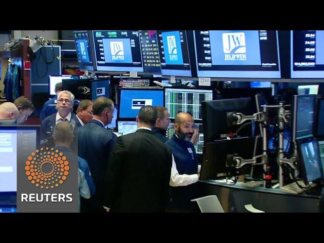 Wall Street slides, tech wreck resumes