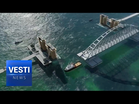 The Crimean Bridge is being Built for Centuries to Come