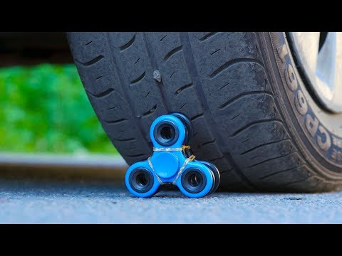 EXPERIMENT Car VS Fidget Spinner