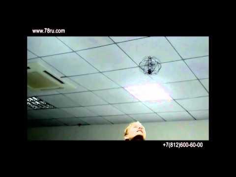 Видео Вертолет в шаре лепе