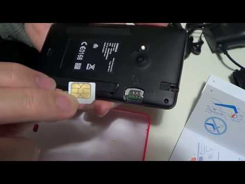 Nokia Lumia 625 Windows Phone SIM Card Installation