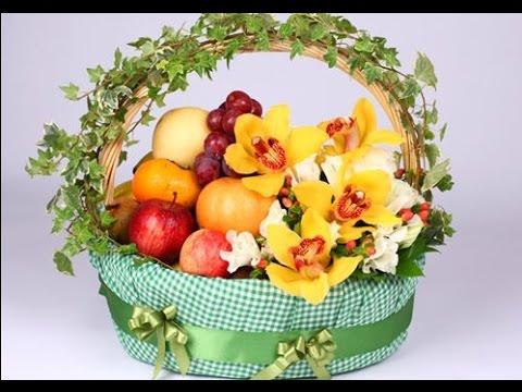 Fruit Basket Decoration Wedding - YouTube