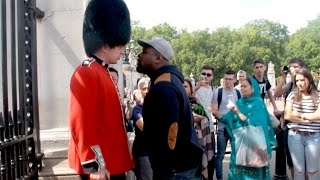Repeat youtube video Make way for The Queens Guard Prank