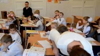 Урок математики в 1 классе на конкусе