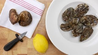 Shucking an oyster – Savory