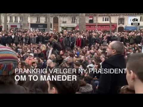 Tusinder demonstrerer mod franske præsidentkandidater - DR Nyheder