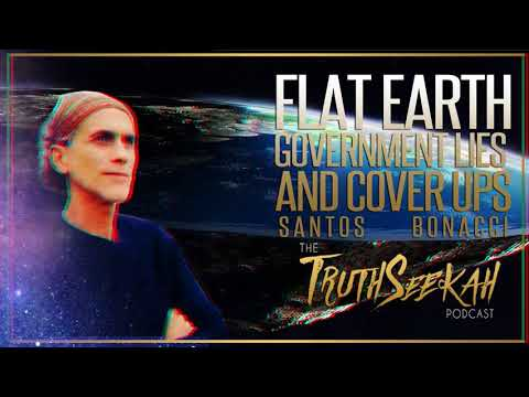 Santos Bonacci Explains Flat Earth With Proof