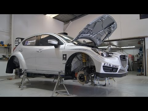 Force Motorsports new Mazda 2 Rallycar - AP4 Spec