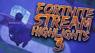 JOHN BUILD IT! | FORTNITE STREAM HIGHLIGHTS 3 (Fortnite Funny Moments)