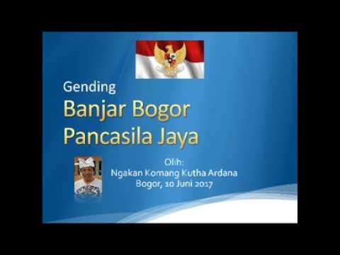 Gending Banjar Bogor Pancasila Jaya