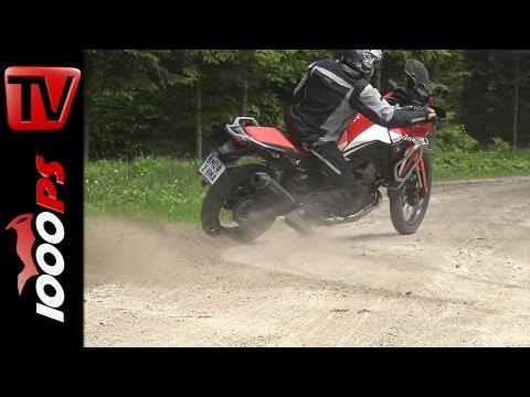 Honda Africa Twin 2016 - Traktionskontrolle Test Foto